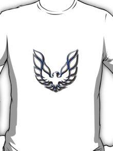 White & Blue Firebird T-Shirt