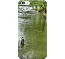 Angling for the Big One iPhone Case/Skin