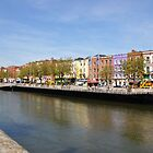 The Ireland Series-Along the Liffey River, Dublin by Brandi  Reynolds