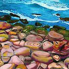 Bondi Rocks by Lynette Leftwich