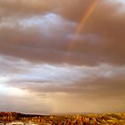Rainbow over Moon Valley, San Pedro de Atacama, Chile by parischris