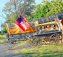 Wagons Of Yesteryear by James Brotherton