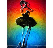 She's Like a Rainbow Photographic Print
