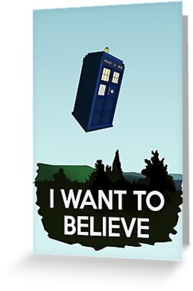 I Want To Believe by saniday