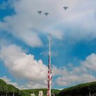 Memorial Day jet fly-over by Alex Preiss