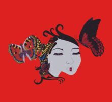 Natures Geisha Butterfly by Mags Polley