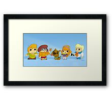 Scooby Doo Gang Framed Print