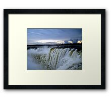 Iguazu Sunset Framed Print