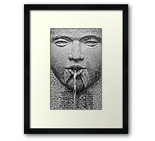 Water from the mouth ... Framed Print