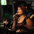 Singing 2 at Brisbane Jazz Club by Magda Labuda by Access Arts Camera Wonderers
