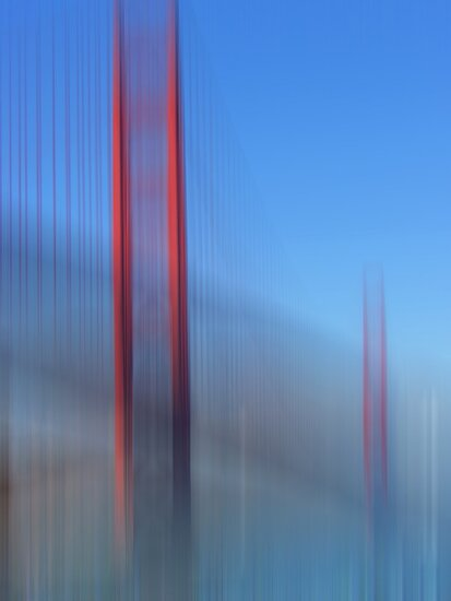 Golden Gate Bridge in Motion by KUJO-Photo