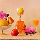 Still Life with fruits and flowers by torishaa