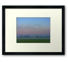 Misty Morning (3), Cheshire Framed Print