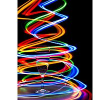 Neon Trails Photographic Print