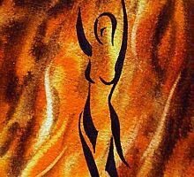 Dancing Fire V by Irina Sztukowski