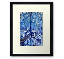 Seattle Sound Boats Framed Print