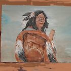 Worn warrior by indi56