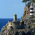 Lighthouse, Puerto de Soller, Mallorca by KUJO-Photo