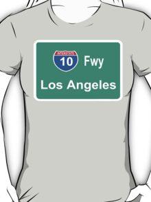 INTERSTATE 10: LOS ANGELES T-Shirt