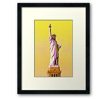 Lady Liberty Framed Print