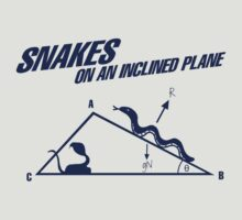Snakes On An Inclined Plane by diddykong13