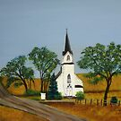 Church by the country road  by maggie326