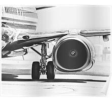 Boeing 737 & CFM56 Turbofan Engine Poster
