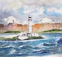 LISMORE LIGHTHOUSE - NW Scotland by Rob Beilby