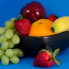 Fruit Bowl by Heather Rowe of Oil Water Artt