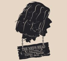The Ned's Head (Black) by Malc Foy