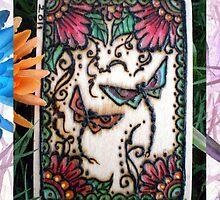 Henna Dragon Flys By Cynthia McDonald by StarlitSkiesArt