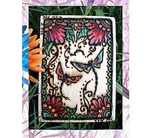 Henna Dragon Flys By Cynthia McDonald Photographic Print