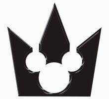 Kingdom Hearts Mickey Crown Poster T-Shirt