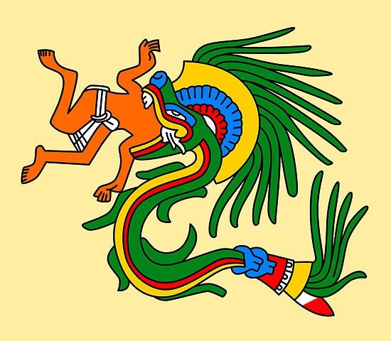 Quetzalcoatl - Codex Borgia by Gwendal