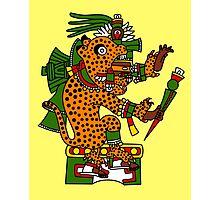 Jaguar Warrior - Codex Borgia Photographic Print