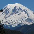 Remarkably Free - Majestic Mount Rainier by Mary-Elizabeth Kadlub