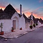 Trulli at Sunrise - Puglia Italy by David Lewins