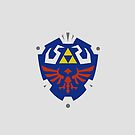 Zelda Link Hylian Sheild  by Aaron Pacey