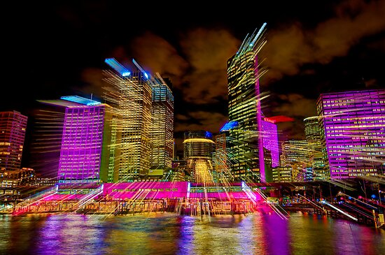 Warp Speed City by Erik Schlogl
