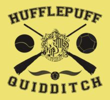 Hufflepuff Quidditch (Black) by Lumos ϟ Nox