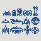 8Bit Space Trip (shirt and print) by UnsoundM