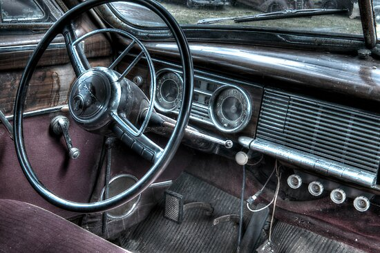 Old Packard by Bob Melgar