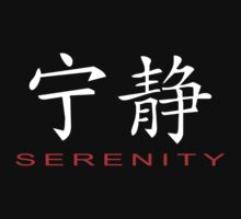 Chinese Symbol for Serenity T-Shirt by AsianT-Shirts