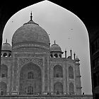 Archway to the Taj Mahal by Kerry Purnell