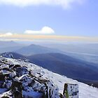 Winter, Mt Wellington by Jacqui7