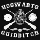 Hogwarts Quidditch (White) by Lumos ϟ Nox