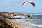 Paragliding 001 by Karl David Hill