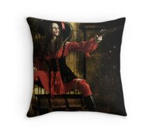 Stand & Deliver- The Highwaywoman Throw Pillow