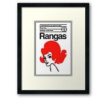 Rangas Matches Framed Print
