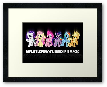 Pony Poster by RoughBacon